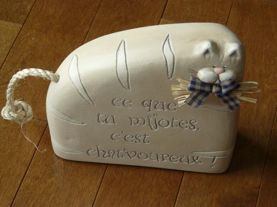 MON CHAT DE CUISINE