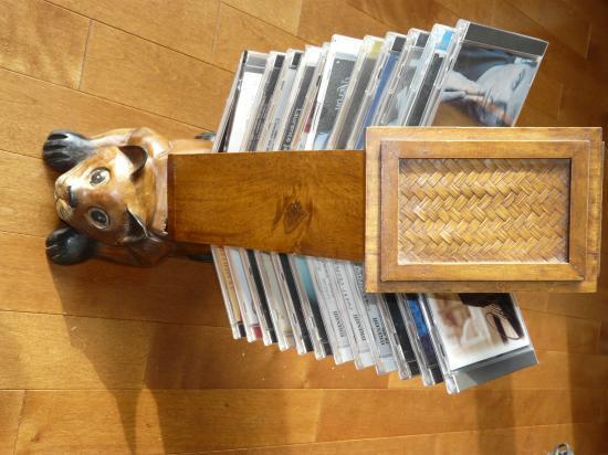 MON CHAT TENEUR DE CD